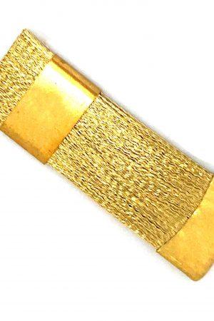 מברשת ברזל לניקוי ראשי שיוף (מסירה לכלוך וחלודה מחריצי הראשים) תוצרת רוסיה