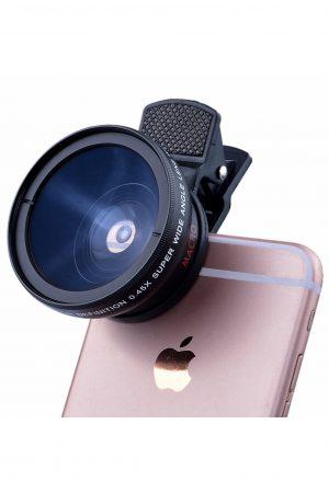 עדשת מאקרו איכותית לצילומי תקריב מושלמים (מצוינת לצילום ציפורנייםׂ) Macro Smartphone lens