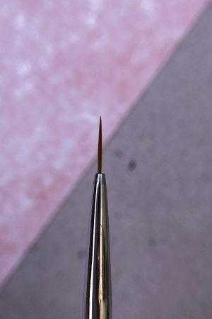 מכחול דק לציור – אורך 0 Proffesional Nail Brush