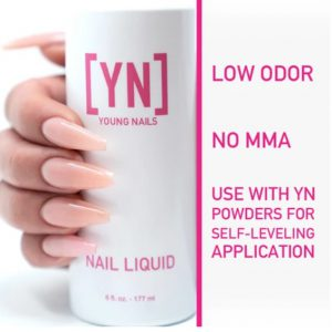 "נוזל אקריל 177 מ""ל יאנג ניילס – Young Nails Acrylic Liquid"