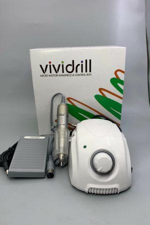מכונת שיוף מקצועית 104 ViviDrill ויוידריל 35,000 סיבובים בדקה – צבע לבן + אחריות יבואן לשנה