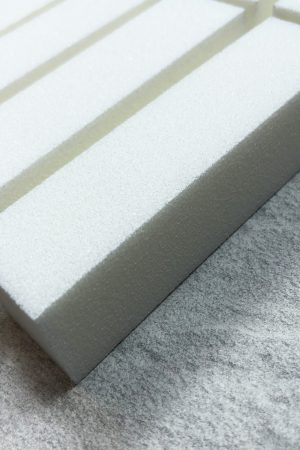 סט 10 יח' בלוק לבן איכותי (באפר) לשיוף ציפורניים והכנתן למריחת ג'ל