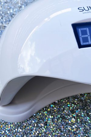 מנורת ייבוש משולבת LED/UV Sun5 48W – צבע לבן
