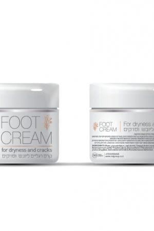קרם איכותי לטיפול ביובש וסדקים בכף הרגל Foot Cream N&D 50ml