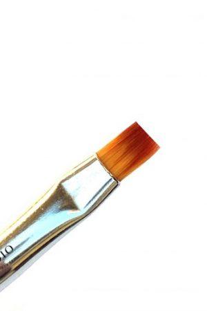 מברשת ג'ל מספר 4 שיער קולינסקי מקורית – OPI Kolinsky Professional Gel Brush Flat