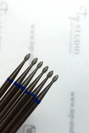 ראש מניקור – טיפה 0.16 (כחול) תוצרת רוסיה
