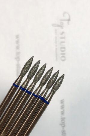 ראש מניקור – להבה בינונית 0.23 (כחול) תוצרת רוסיה