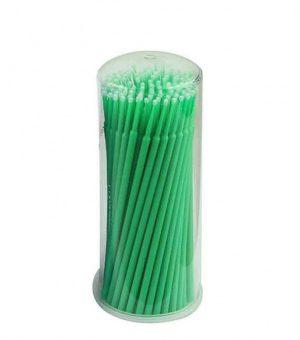 100 יח' מיקרובראש MicroBrush איכותיים + קופסה לאחסון