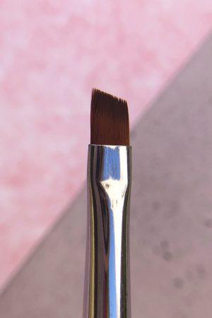 מברשת ג'ל זוויתית מס' 6  – סגול Purple Gel Brush Angular