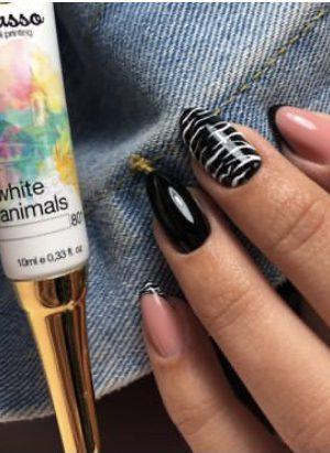 ג'ל ציור פיקאסו (לבן) 801 White Animals – Picasso Gel Paint