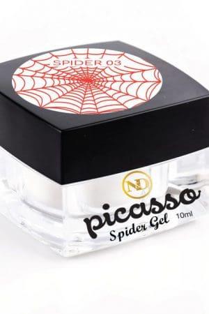 ספיידר ג'ל אדום – Picasso Spider Gel (לציור פסים גיאומטריים)
