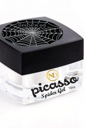 ספיידר ג'ל כסף – Picasso Spider Gel (לציור פסים גיאומטריים)