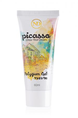 """פוליג'ל פיקאסו גוון שקוף – 60 מ""""ל Clear Picasso PolyGel"""