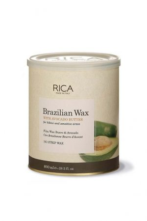 שעווה ברזילאית מתקלפת איכותית בתוספת שמן אבוקדו ריקה RICA 800ml
