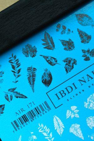 מדבקות מיוחדות לעיצוב ציפורניים – סליידר IBDI Nails 171