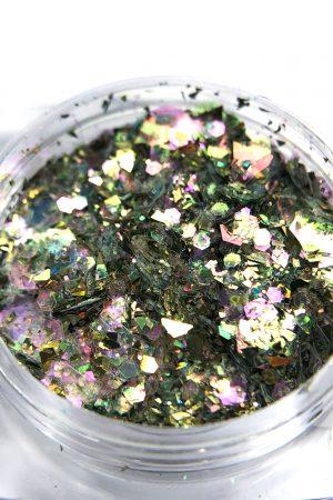 אבקת גליטרים/נצנצים לקישוט הציפורניים קומילפו Komilfo Glitter Powder