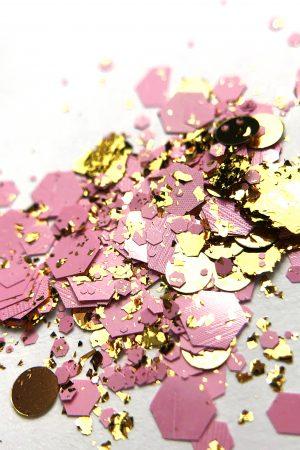 אבקת גליטרים/נצנצים לקישוט הציפורניים Glitter Powder