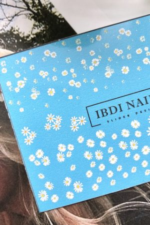 מדבקות מיוחדות לעיצוב ציפורניים – סליידר IBDI Nails COLORFUL №017