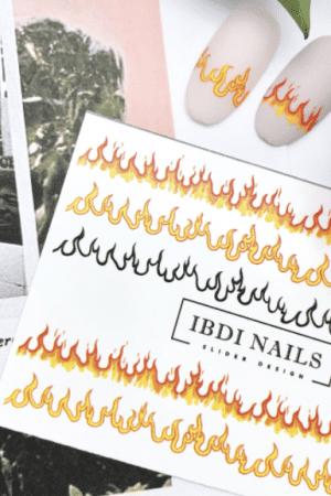 מדבקות מיוחדות לעיצוב ציפורניים – סליידר IBDI Nails COLORFUL25
