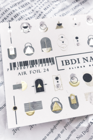 מדבקות מיוחדות לעיצוב ציפורניים – סליידר IBDI Nails AIRFOIL24