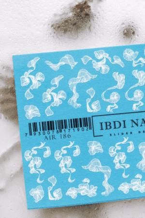 מדבקות מיוחדות לעיצוב ציפורניים – סליידר IBDI AIR186